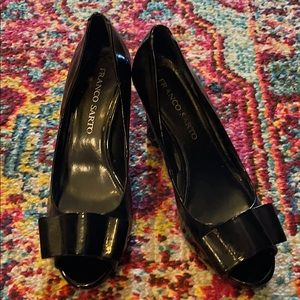 Franco Sarto patent leather shoes